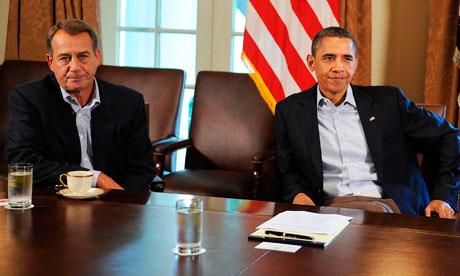 Barack Obama John Boehner, US debt crisis