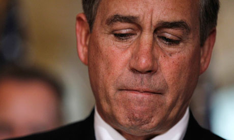 US House Speaker John Boehner