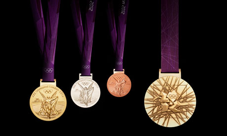 London 2012 Olympic Medals - David Watkins