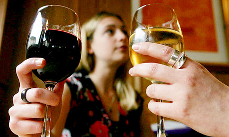 alcohol and obesity are factors that make British women
