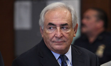 Dominique Strauss-Kahn in New York
