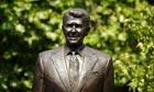 Statue of former US president Ronald Reagan