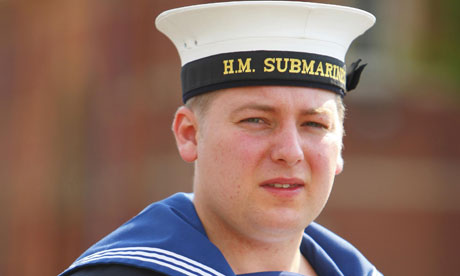 Royal Navy medic Michael Lyons