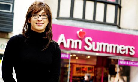 Ann Summers' undercover boss Vanessa Gold