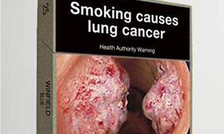 Proposed Australian cigarette packaging