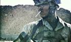A US marine in Afghanistan, November 2010