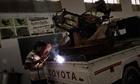 Libyan rebels launch dual offensive