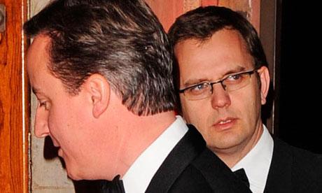 Andy Coulson and David Cameron