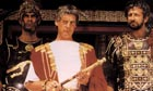 John Cleese, Michael Palin and Graham Chapman in a scene from Monty Python's Life of Brian.