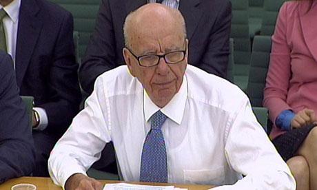 Phone hacking: Rupert Murdoch