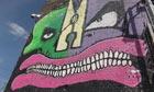 Graffiti near the Olympic Park