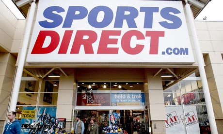 Sports Direct shop