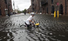 A New York resident copes with the aftermath of Irene