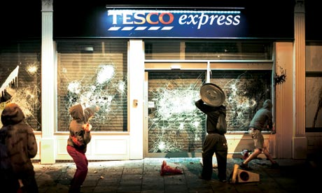 Tesco protest