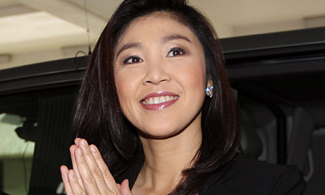 Thailand confirms Yingluck Shinawatra as first female PM