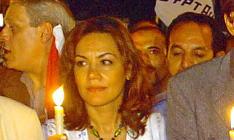 Bothaina Kamel is standin 007 Arab Spring Reality