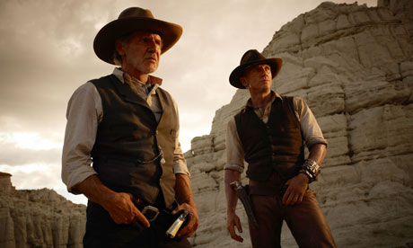 Still from Cowboys and Aliens