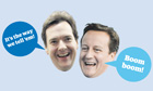 Funny Tories: George Osborne and David Cameron