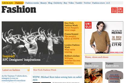 Fashion Front Screengrab
