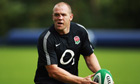 England rugby captain Mike Tindall