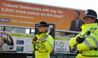 Police Liberal Democrats conference Birmingham