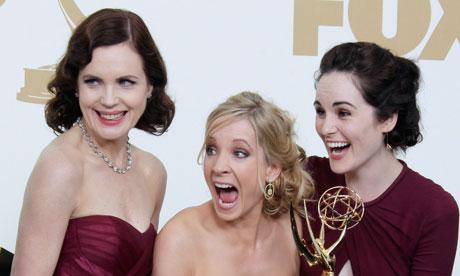 Elizabeth McGovern Joanne Froggatt, Michelle Dockery