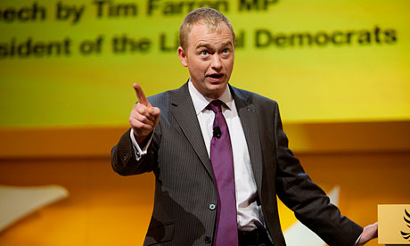 Tim Farron, president of Lib Dems