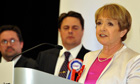Margaret Hodge and Nick Griffin