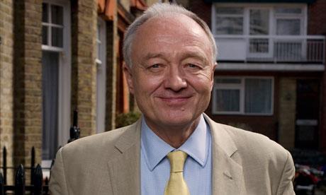 London mayoral candidate Ken Livingstone