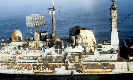 Falklands War and HMS Sheffield