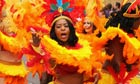 A dancer at Notting Hill Carnival