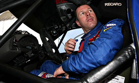 Colin McRae at the Rally of Turkey in 2006.