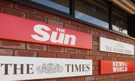 News International plant at Wapping, London