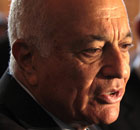 Arab League secretary general, Nabil Elaraby