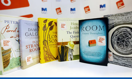 The shortlisted books competing for the Man Booker Prize 2010