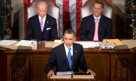 President Obama Delivers His Jobs Speech to Congress