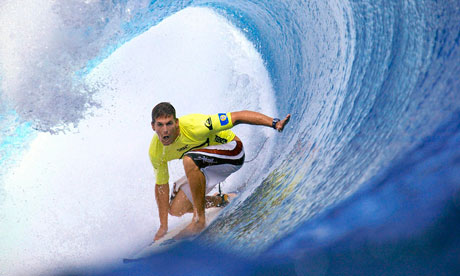 Surfer Andy Irons