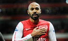 Theirry Henry in action on Monday