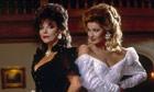 Joan Collins and Stephanie Beacham in Dynasty, 1988