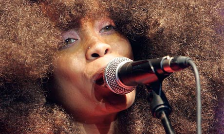 Soul singer Erykah Badu