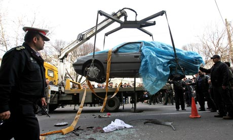 Iranian nuclear scientist killed in bomb attack