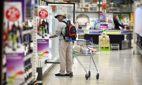 Inside Tesco Store Ahead Of Results Announcement