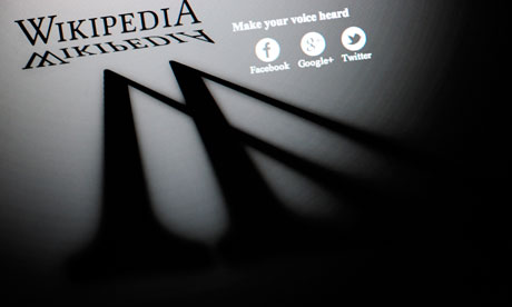 SOPA: Co sponsors Defect, Backtrack After Blackout Wikipedia blackout 007