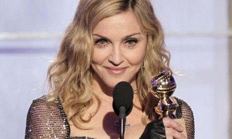 Madonna at the Golden Globe Awards