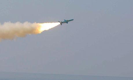 IRAN MISSILE TEST-fogo