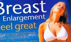 Plastic surgery advert