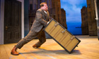 James Corden and the immovable trunk in One Man, Two Guvnors