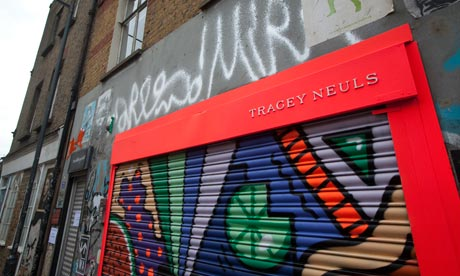 Show designer Tracey Neuls is a recent arrival in Redchurch Street, Shoreditch, east London
