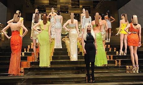 Versace: Presentation - Paris Fashion Week Haute Couture S/S 2012