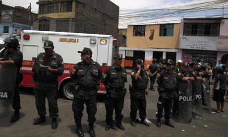 Peru fire rehabilitation centre